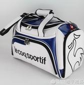 公雞高爾夫衣物包男衣物袋衣服包旅行包水晶PU鞋包單肩斜跨包  (橙子精品)