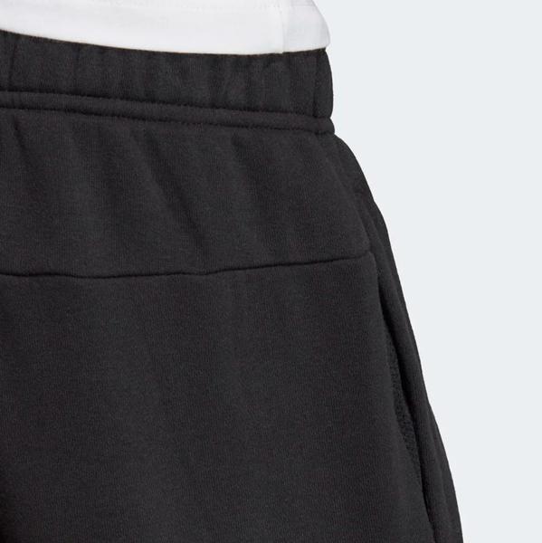 ADIDAS 黑白 棉褲 縮口 英文logo 長褲 童裝 童褲 小朋友 (布魯克林) DV1806
