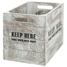 木製收納盒 SHACK 直式半格型 WH...