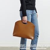 韓版新款女包手提包時尚簡約手拿包OL氣質通勤包文件包女式公文包ATF 艾瑞斯生活居家