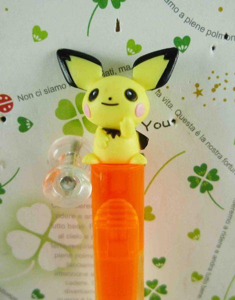 【震撼精品百貨】神奇寶貝_Pokemon~原子筆-皮丘(橘)