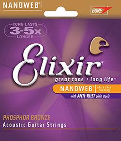 小叮噹的店- 吉他弦 美國Elixir 薄磷青銅 16002 16027 16052 16077 16102 16182