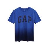 Gap男童漸變風格徽標LOGO短袖T恤539655-鈷藍色