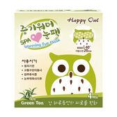 Happy Owl快樂貓頭鷹SPA眼罩4入/綠茶【杏一】