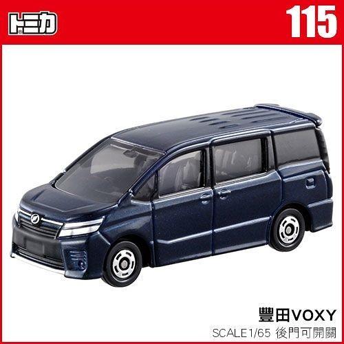 《TOMICA火柴盒小汽車》TM115 豐田 VOXY     /   JOYBUS玩具百貨