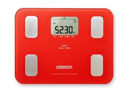 寵物可測,精準至小數點2位,HBF214/HBF217加強版 HBF251歐姆龍OMRON淘氣紅體重體脂肪計體脂計