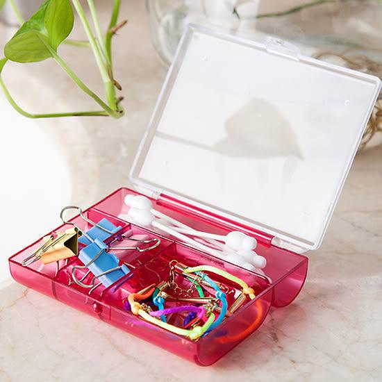 ✭米菈生活館✭【L46-1】六格整理收納盒 小物 首飾 飾品 雜物 零件 手作 DIY 藥盒 配件 便攜 分格