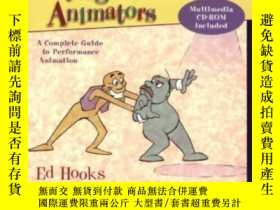 二手書博民逛書店Acting罕見For Animators, Revised EditionY256260 Ed Hooks