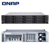 QNAP 威聯通 TS-1277XU-RP-2600-8G 12Bay NAS 網路儲存伺服器