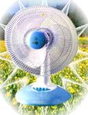 ★彡三段風速 --★風騰 FT-2214 14吋機械式桌扇(顏色隨機)