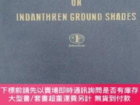 二手書博民逛書店white罕見discharges on indanthren ground shades民國拜爾公司布樣一冊