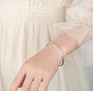 手鐲 波西米亞手鐲純銀手環三生三世小眾設計鐲子森系手工閨蜜情人禮物【快速出貨八折搶購】