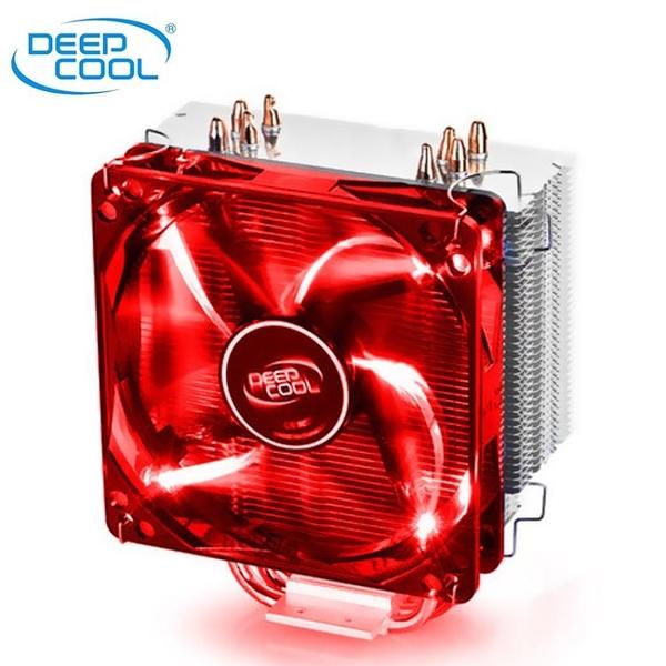 九州風神玄冰400 CPU散熱器銅管臺式靜音I5電腦I3CPU風扇1155AMD【萬聖夜來臨】