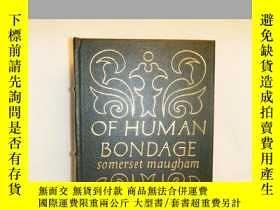 二手書博民逛書店【包罕見】Of Human Bondage,《人性枷鎖》,197
