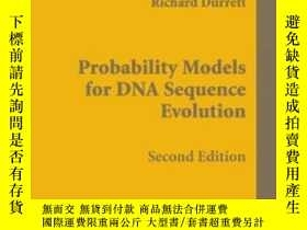 二手書博民逛書店Probability罕見Models For Dna Sequence EvolutionY255562 R