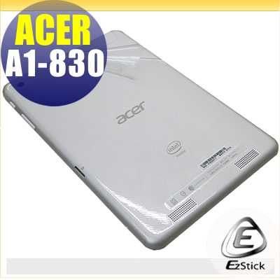 【EZstick】ACER Iconia A1-830 7.9吋 專用 二代透氣機身保護貼(平板機身背貼)DIY 包膜