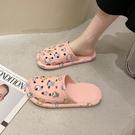 可愛包頭半拖鞋女外穿2021夏季新款室內...