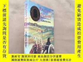 二手書博民逛書店pagan s罕見scribe(英文原版)Y11026 cath