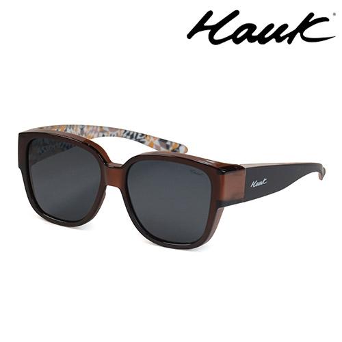HAWK 新型薄框偏光太陽眼鏡套鏡(2用)HK1026-11A