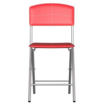 好運折疊椅 紅色款 48x40x83cm
