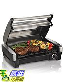 [美國直購] Hamilton Beach 25361 燒烤機(含可視窗戶) Indoor Grill