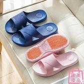 居家拖鞋洗澡沖涼防滑涼拖鞋廁所廚房臥室軟底家【匯美優品】