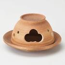 日本陶瓷【益子燒】天目吹 茶香爐 手作薰香爐