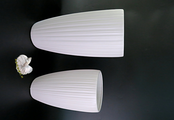 大 白色陶瓷精緻花瓶 進口花器 ☆插花.居家.店面.櫥窗.玄關.大廳擺飾.園藝☆