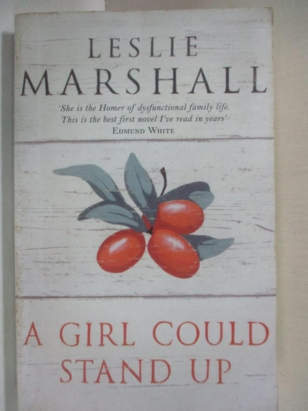 【書寶二手書T7/原文小說_GV7】A Girl Could Stand Up_Leslie Marshall
