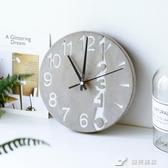 創意現代簡約時尚掛鐘歐式個性客廳臥室家用鐘表時鐘壁掛墻上裝飾 樂芙美鞋