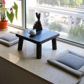 日式燒桐木飄窗桌實木榻榻米茶幾窗臺