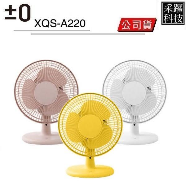 ±0 XQS-A220 A220 正負零 桌扇 循環扇 小風扇 電風扇 立扇 電扇 風扇 小型風扇