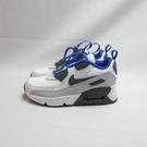 NIKE AIR MAX 90 TOGGLE (PS)中童 氣墊 休閒鞋 CV0064101 白x灰x藍【iSport】