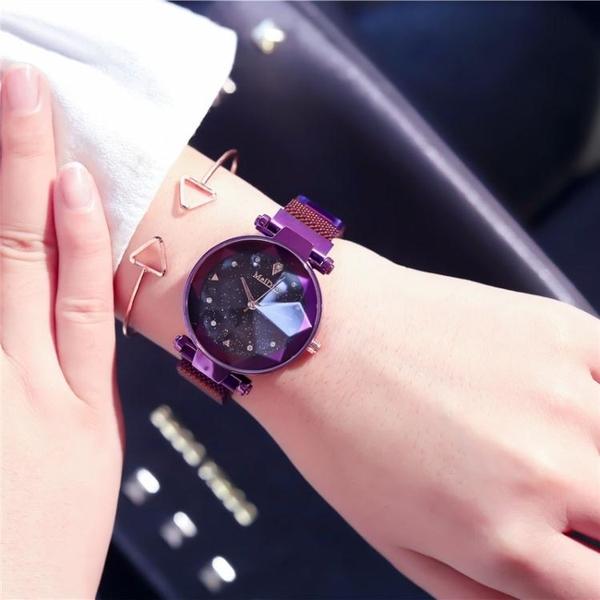 滿天星星空手錶女學生韓版簡約時尚英國  伊衫風尚