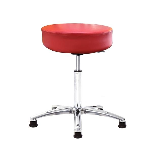 GXG 圓凳款 工作椅 (寬鋁金合腳) 型號T01 LU1