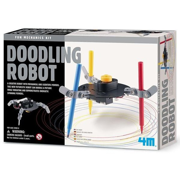 《4M科學探索》Dooding Robot 塗鴉機器人 ╭★ JOYBUS玩具百貨