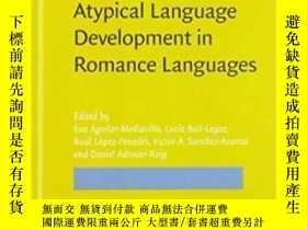 二手書博民逛書店Atypical罕見Language Development I