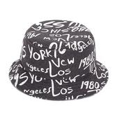 漁夫帽-毛呢時尚塗鴉生日情人節禮物男女遮陽帽5色73db22【時尚巴黎】