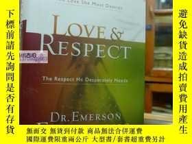 二手書博民逛書店Love罕見& Respect: The Love She Mo