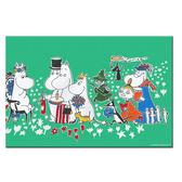 【Moomin】生日派對(50*70) - 無框畫
