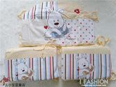 安貝兒嬰兒用品床圍 兒童小床床圍床靠-ifashion