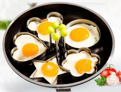 煎蛋模具 不銹鋼加厚心形【藍星居家】