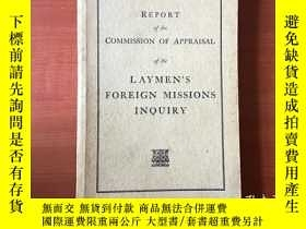 二手書博民逛書店report罕見of the commission of app
