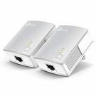 全新 TP-LINK AV600 微型電力線網路橋接器 雙包組(Kit) ( TL-PA4010KIT(US) VER:3.0 )
