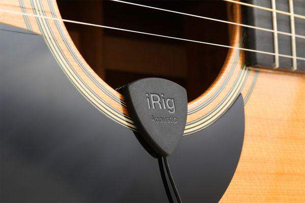 凱傑樂器 IK iRig acoustic guitar mobile microphone/interface(海國原廠540天保固)