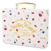 Hello Kitty收納盒 滿版草莓冰淇淋造型手提紙製收納箱/收納盒 [喜愛屋]