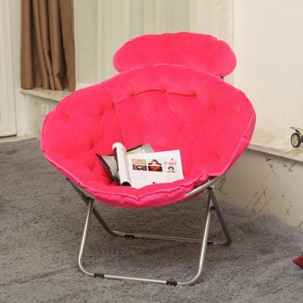 麥米家居 大號月亮椅懶人椅雷達椅午休折疊躺椅靠背椅太陽椅zg
