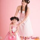 【Lovin Sweetii】俏麗媽咪小禮服洋裝~粉紅款