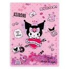 【震撼精品百貨】酷洛米_Kuromi~Sanrio 酷洛米亮片裝飾雙開式文件夾(A4)#36927