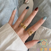 歐美小眾設計食指純銀戒指女時尚高級感【奇妙商鋪】